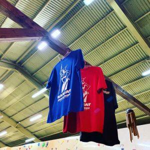 沖縄県で最大級のボルダリングジムBANJATのオリジナルTシャツ
